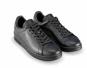 adidas stan smith black 3D
