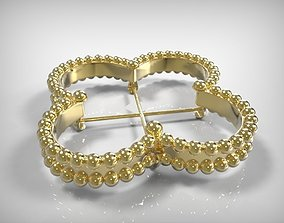 3D print model Golden Jewelry Part For Ring Earring