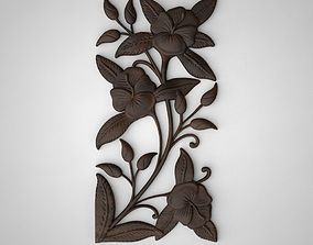 floral ornament 3d 3D print model