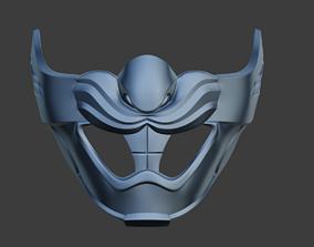 3D printable model Rabbit Samurai mask for face