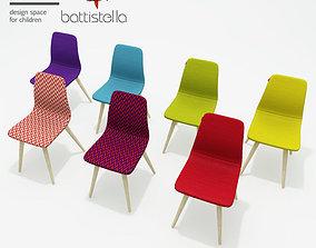 3D Battistella Nidi woody chair