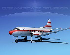Martin 202 Aerojet General 3D
