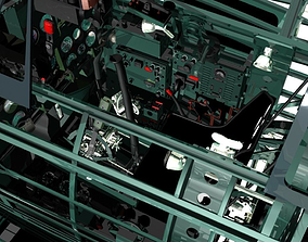 3D model Mitsubishi A6M Zero framework