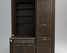Kitchen Cabinet wood 3D model