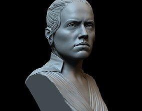 Rey Skywalker from Star Wars 3D print model