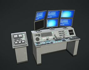 Control Panel 3D model low-poly