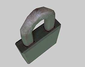 Millitary Lock PAD 3D model