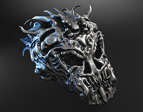 skull beast jewellery 3D model
