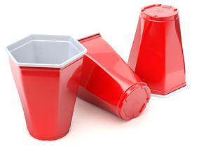 Plastic Cup Model - 3