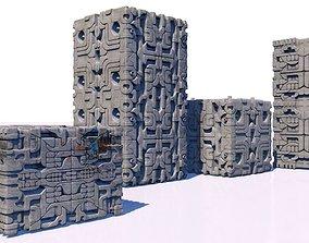 Aztec stones 3D