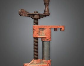 Clamp Tool TLS - PBR Game Ready 3D asset