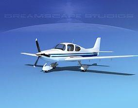 Cirrus SR22 V10 3D model
