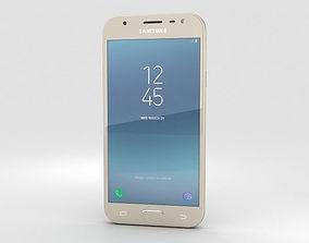 touch Samsung Galaxy J3 2017 Gold 3D