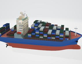 Ocean Freighter 3D model