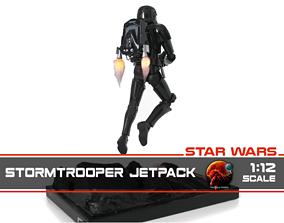3D printable model Stormtrooper Jetpack 1-12 scale