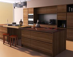 interior 3D Modern Kitchen