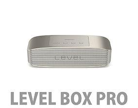 Samsung Level Box Pro Wireless Bluetooth Speaker Gold 3D