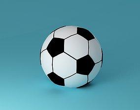Football Soccer Ball 3D asset