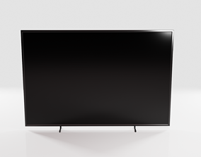 3D Simple Flat Screen TV