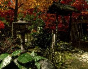 3D model Japenese IRIS Garden Pack