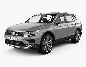 Volkswagen Tiguan Allspace 2017 3D model