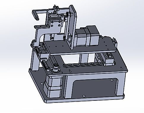 3D Three axis belt drive mobile platform