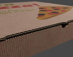 3D model Itza Pizza Box