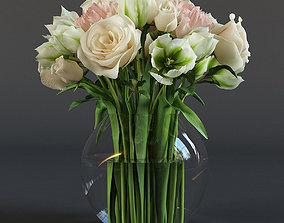Bouquet of flowers 3D model