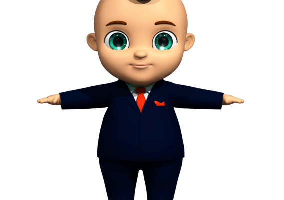 Cartoon Boss Baby