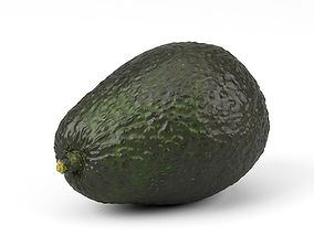 Photorealistic Avocado 3D Scan