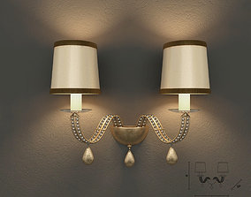 3D Masiero 7600 A2 wall lamp