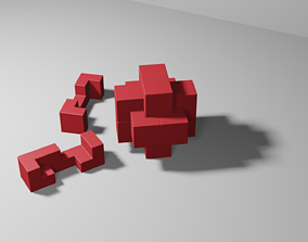 Logic 3D Burr Puzzle