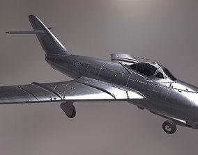 MiG 17 3D asset