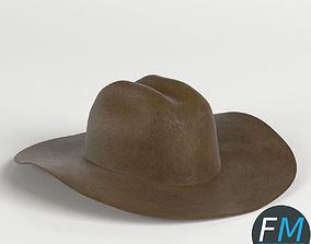 585f1a3128387 Cowboy hat 3D Models   CGTrader