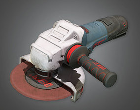 3D model Electric Grinder TLS - PBR Game Ready