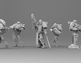 3D printable model Knight of Roma - Veterans with Combi 1