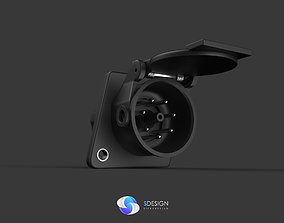 3D model Truck abs plug