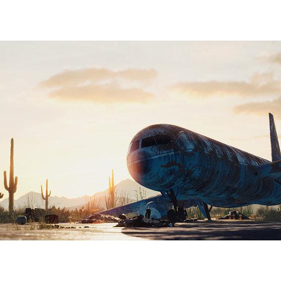 Abandoned Flight - UE4
