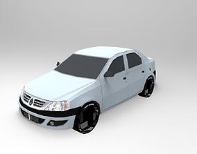 3D model Standard car automobile