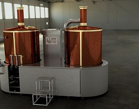 Brewery 3D model