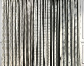 Curtain Set 49 3D