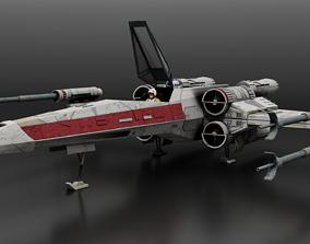 3D Star Wars T65b X-Wing Starfighter