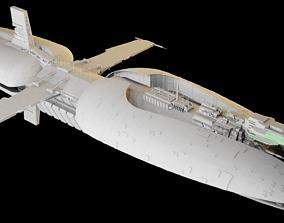 3D model Munificent-class star frigate