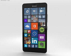Microsoft Lumia 640 XL Glossy White 3D model