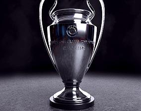 UEFA Champions League Trophy 3D model sports