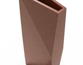Rectangular vase 3D print model