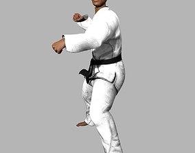 Ruiz Karate Judo Outfit 3D model