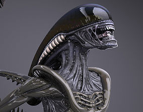 Alien Xenomorph High Detail 3D
