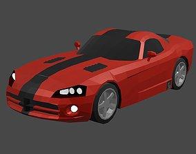 Dodge Viper SRT10 3D asset