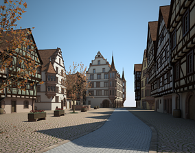 town 3D Medieval Village